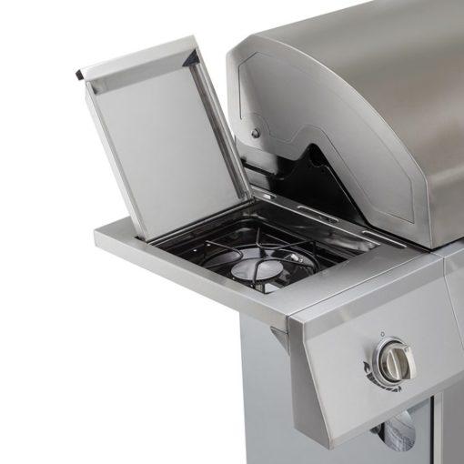 Side burner for the Dyna-Glo 4 Burner Stainless LP Gas Grill - DGE486SSP-D