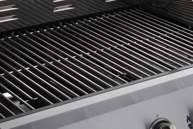 Stainless steel rod grates Dyna-Glo 5 Burner Stainless Steel LP Gas Grill - DGE530SSP-D